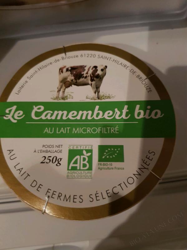 CAMEMBERT BIO - 250G