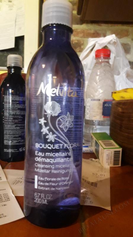 EAU MICELLAIRE DÉMAQUILLANTE BOUQUET FLORAL - 200 ML