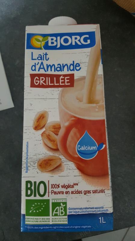 LAIT D'AMANDE - BJORG - 1L