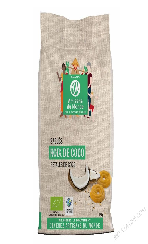 Sablés noix de coco - 125g