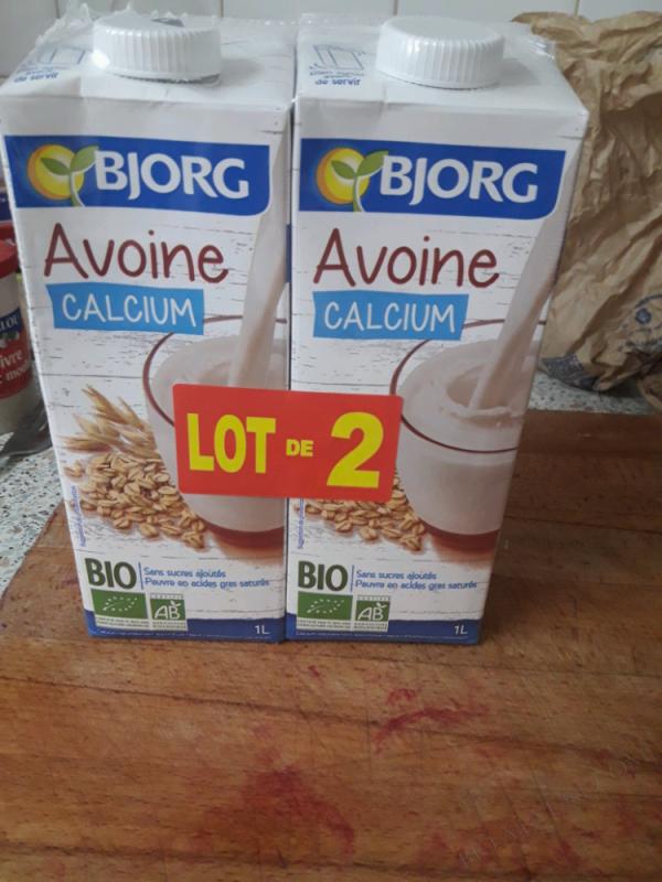 LOT DE 2 BOISSON AVOINE CALCIUM - 2 X 1L