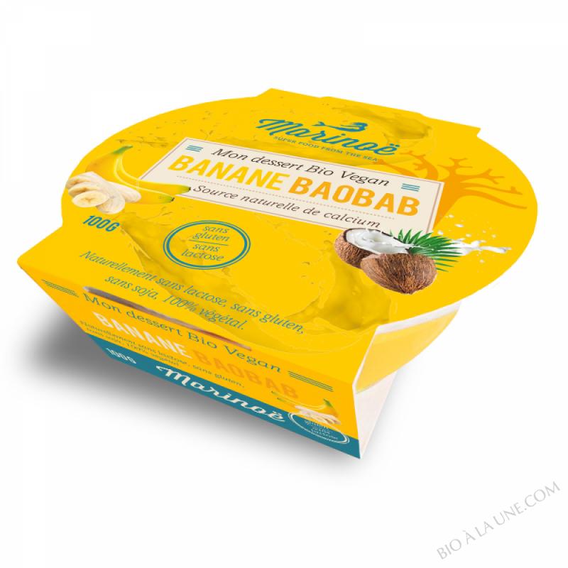 Dessert Végétal Banane-Baobab - Marinoë