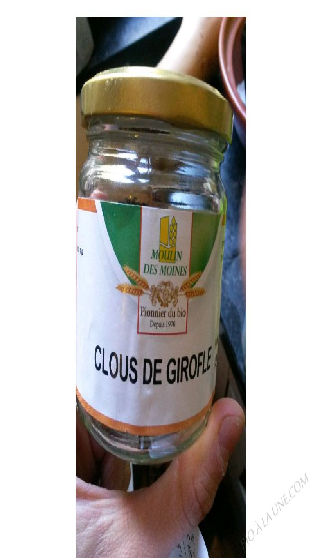 CLOUS DE GIROFLE