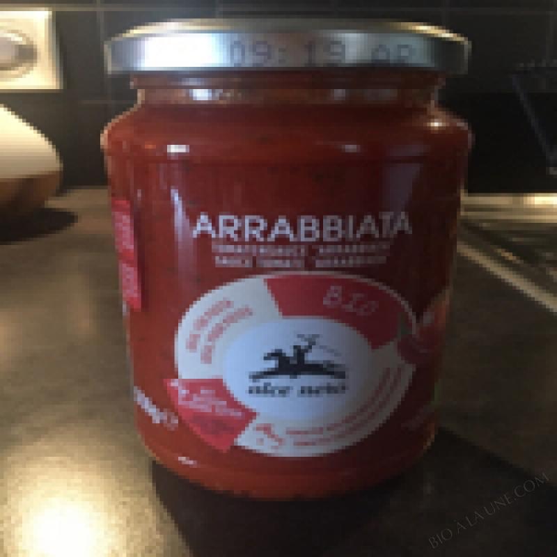 SAUCE TOMATE ARRABIATA - ALCE NERO - 350 G