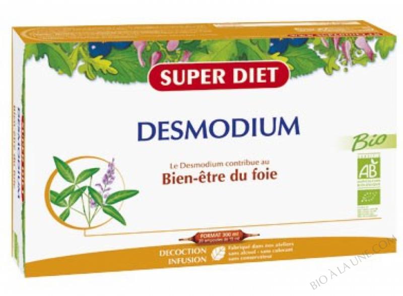 DESMODIUM NON BIO - 20 AMPOULES DE 15ML