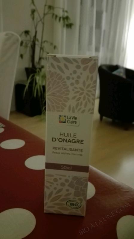 HUILE D'ONAGRE - 50ML