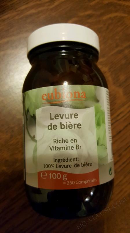 COMPRIMÉS DE LEVURE DE BIÈRE - 100G