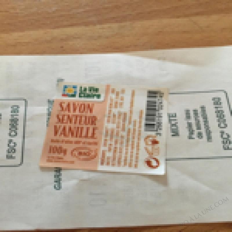 SAVON VANILLE BIO 100G