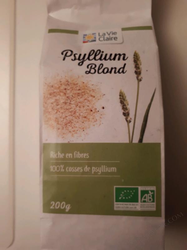 PSYLLIUM BLOND EN POUDRE - 200 G.