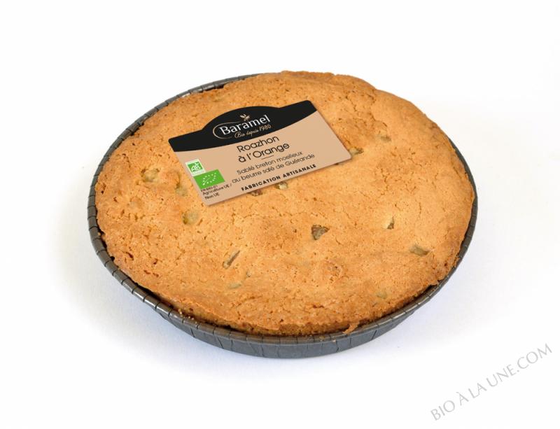 Roazhon orange : sablé moelleux