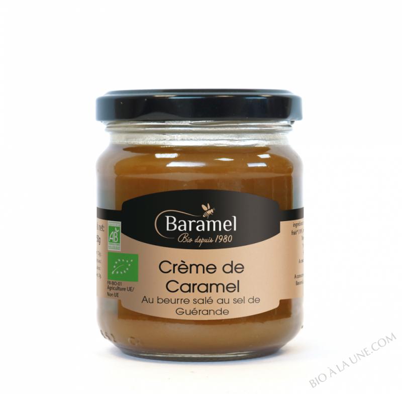 CRÈME DE CARAMEL AU BEURRE SALÉ BIOLOGIQUE - 200 G