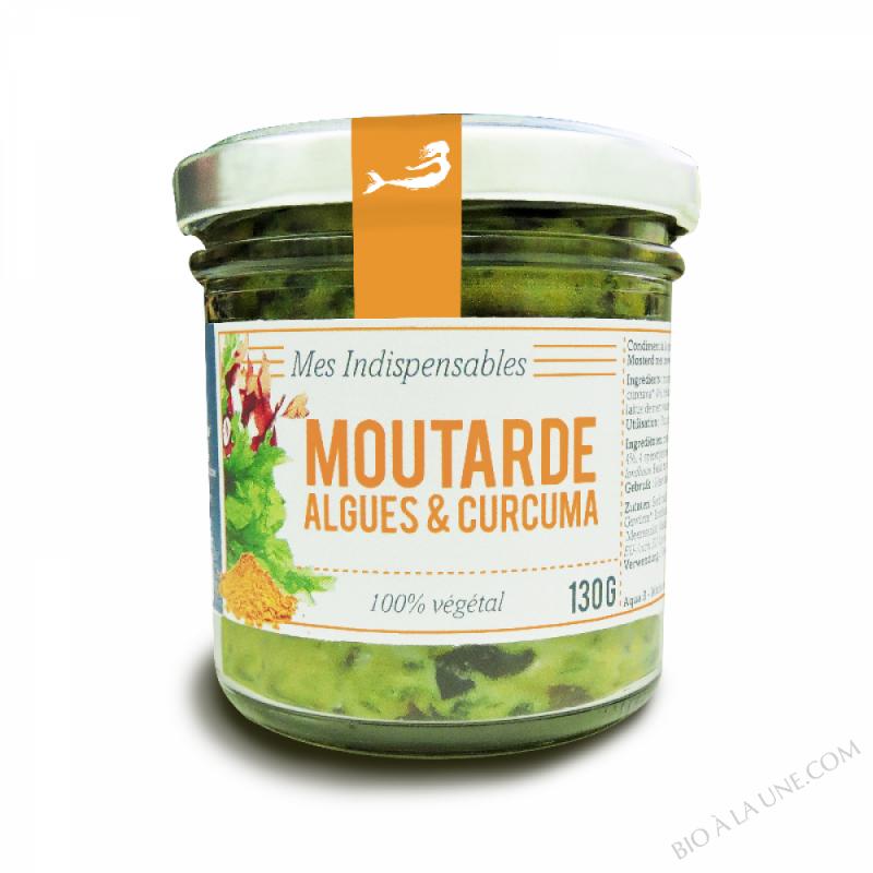 Moutarde algues et curcuma - Marinoë