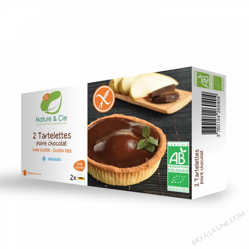 TARTELETTES POIRE CHOCOLAT SURGELÉES - 220G NATURE & COMPAGNIE