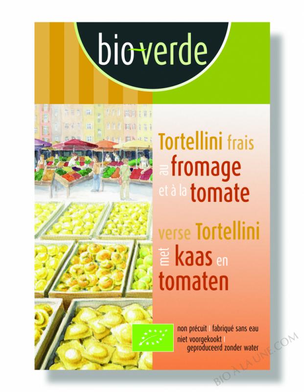TORTELLINI FRAIS AU FROMAGE ET À LA TOMATE - 200G