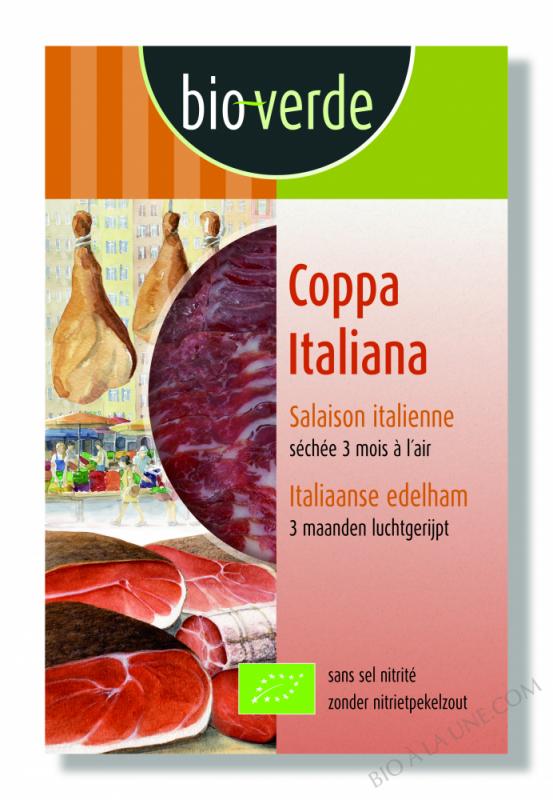Coppa Italiana - salaison italienne - sans sel nitrité, 80g
