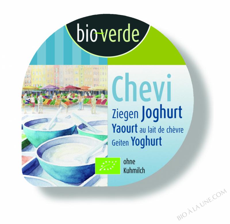 Chevi - yaourt au lait de chèvre, 125g