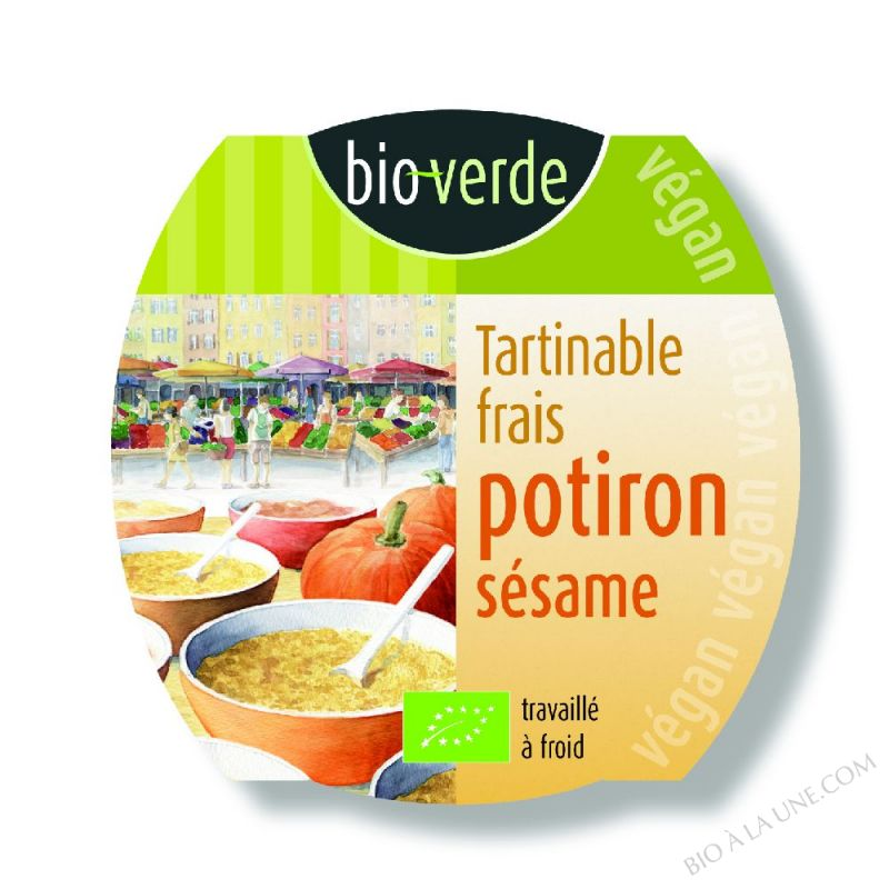 TARTINABLE FRAIS POTIRON SÉSAME -  150 G