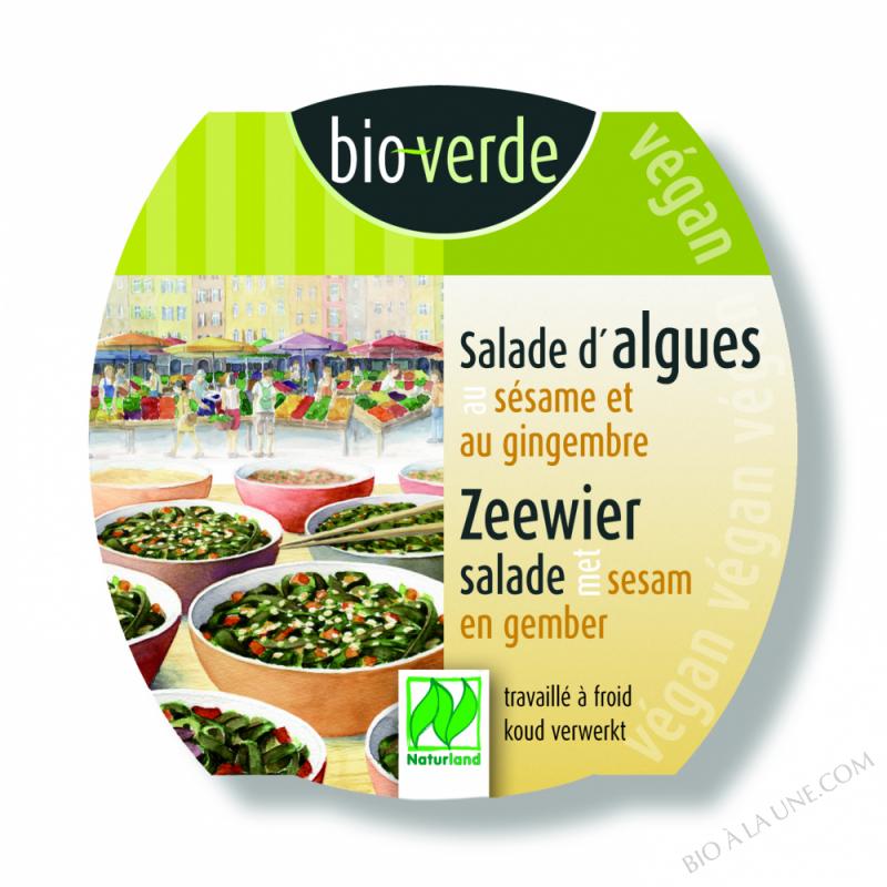 Salade d'algues au sésame et au gingembre, certifiée Naturland, 100g