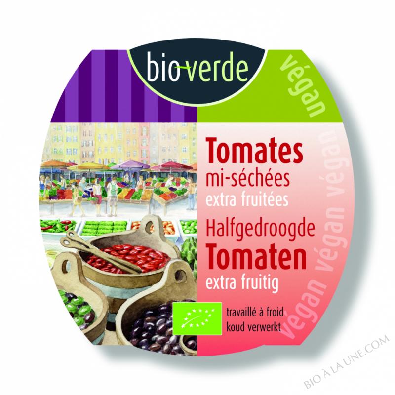 Tomates mi-séchées, extra fruitées, 100g
