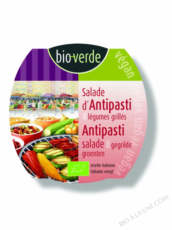 Salade d'antipasti aux légumes grillés, 125g