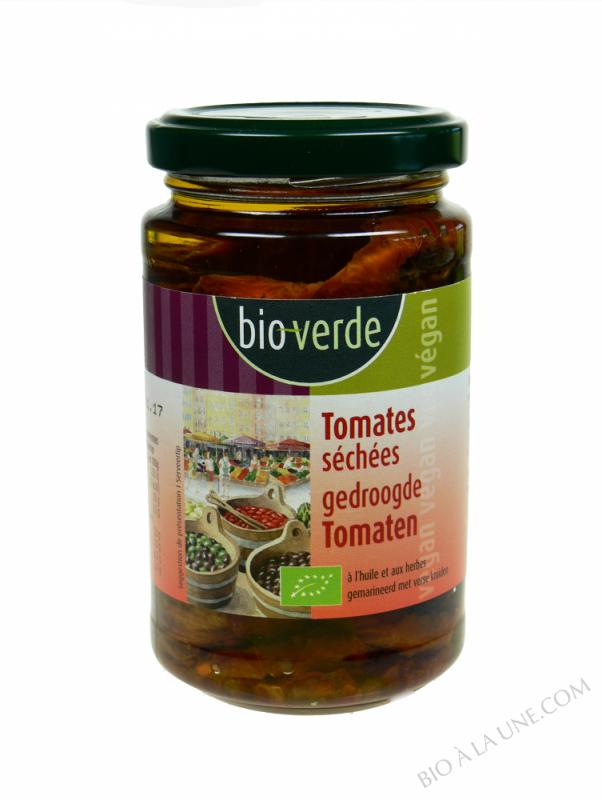 Tomates séchées au soleil à l'huile et aux herbes, 200g