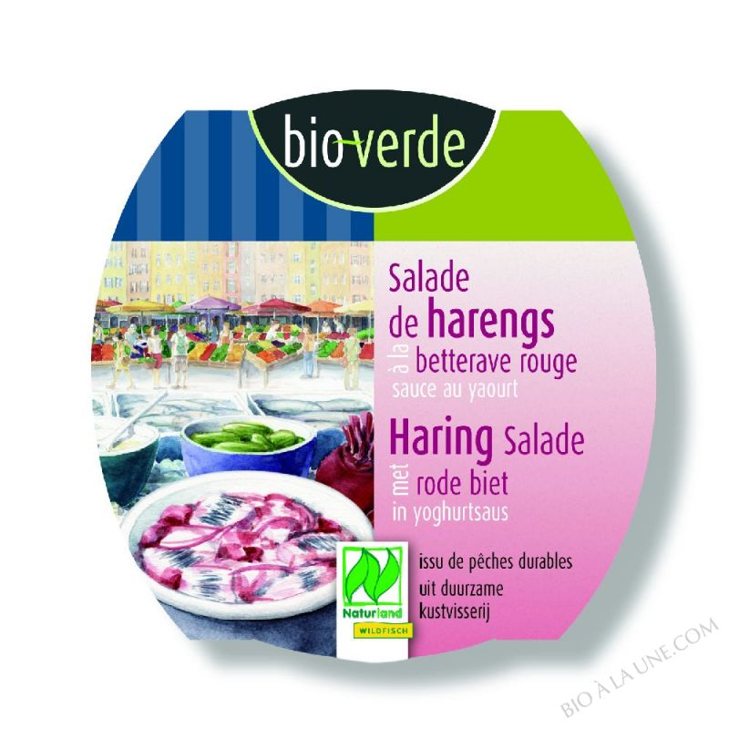 Salade de harengs à la betterave rouge, 150g