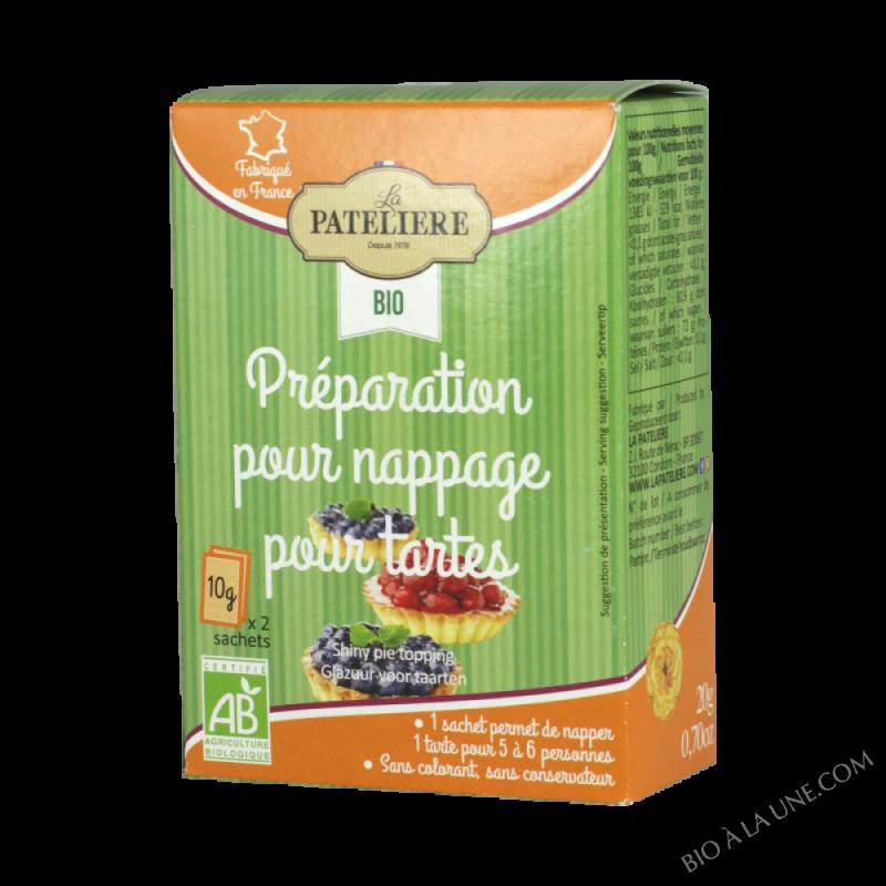 Nappage pour tartes BIO - 2x10g
