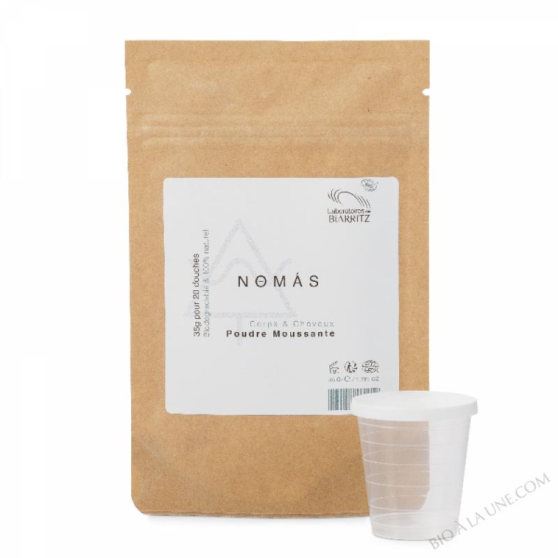 Nomas - Poudre moussante Corps et Cheveux