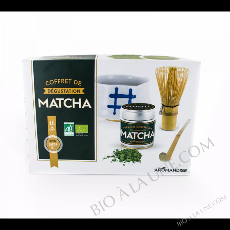 COFFRET MATCHA CÉRÉMONIE AROMANDISE
