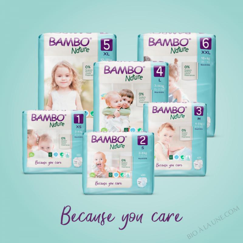 BAMBO NATURE couche bébé écologique