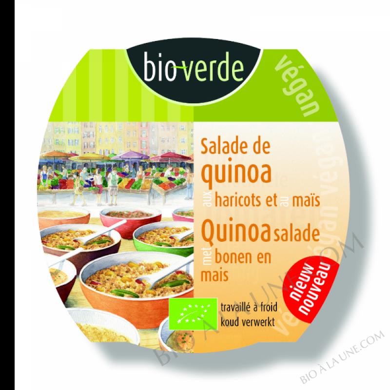 Salade de quinoa au maïs et aux haricots