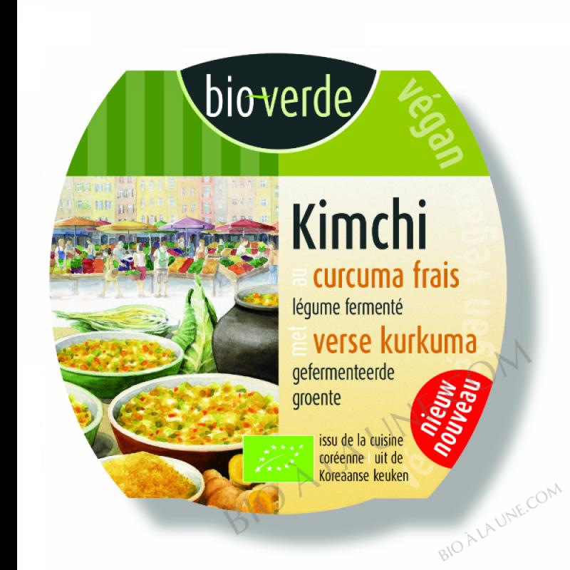 Kimchi au curcuma frais