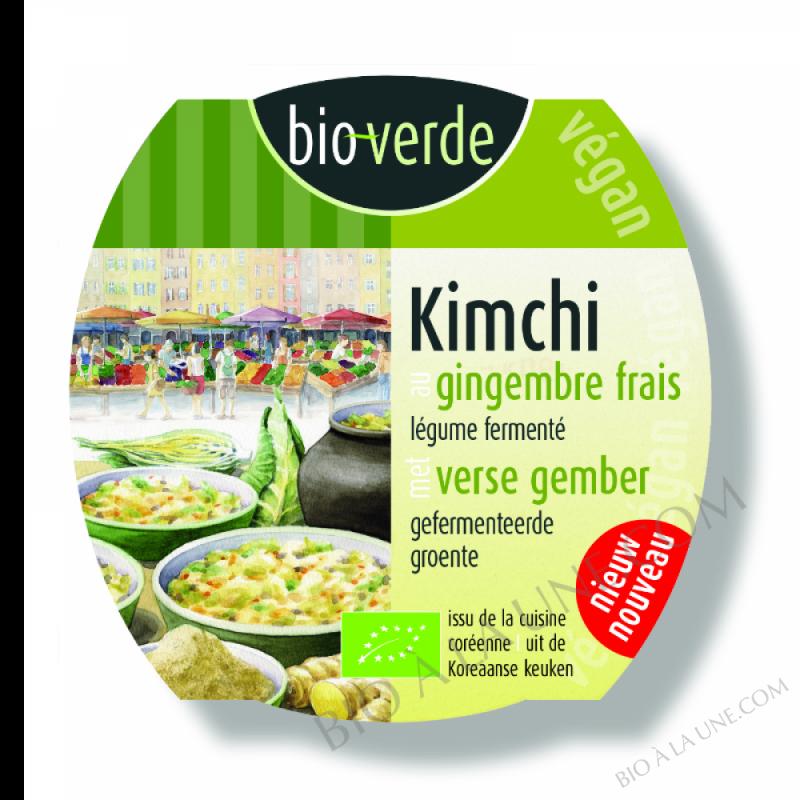 Kimchi au gingembre frais