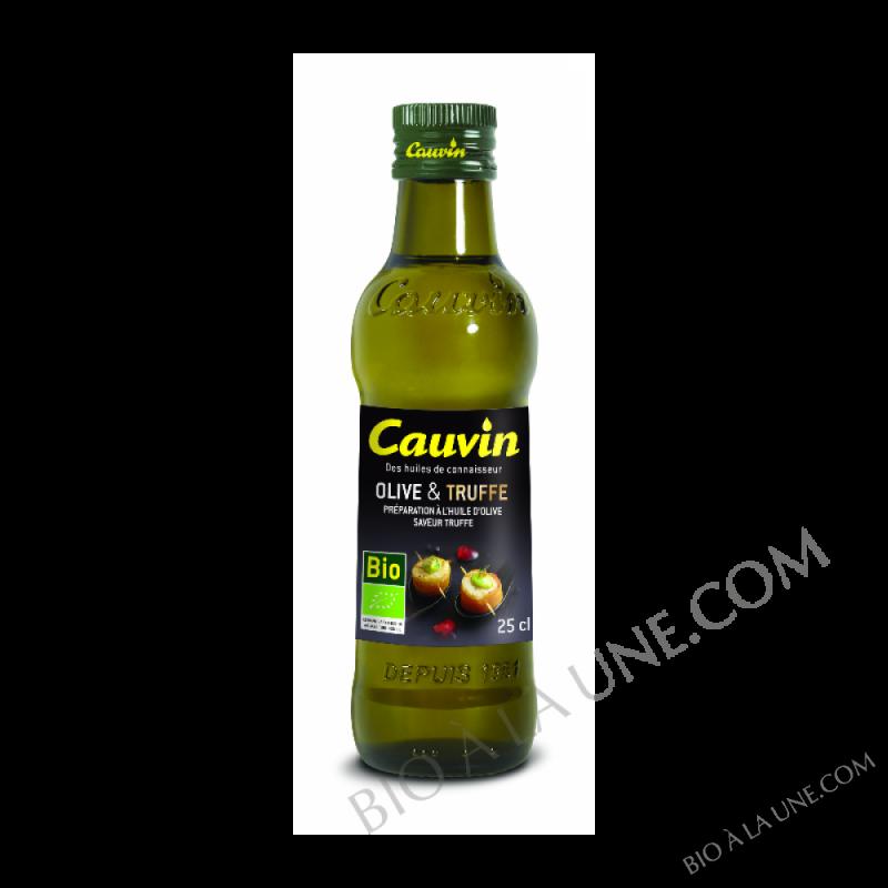 Huile d\'olive Bio saveur truffe