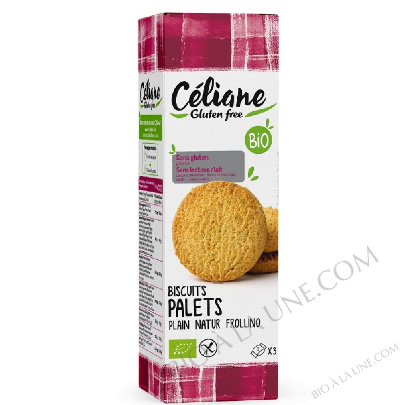 Biscuits palets nature