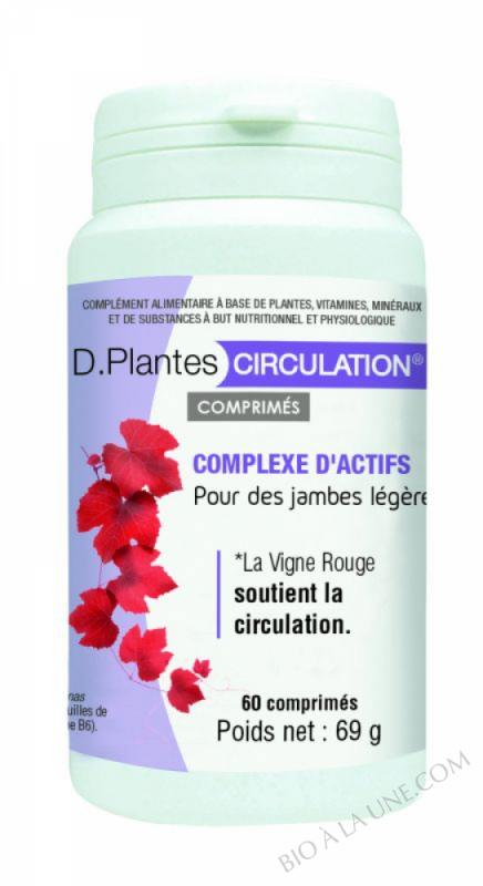 D.PLANTES CIRCULATION COMPRIMÉS