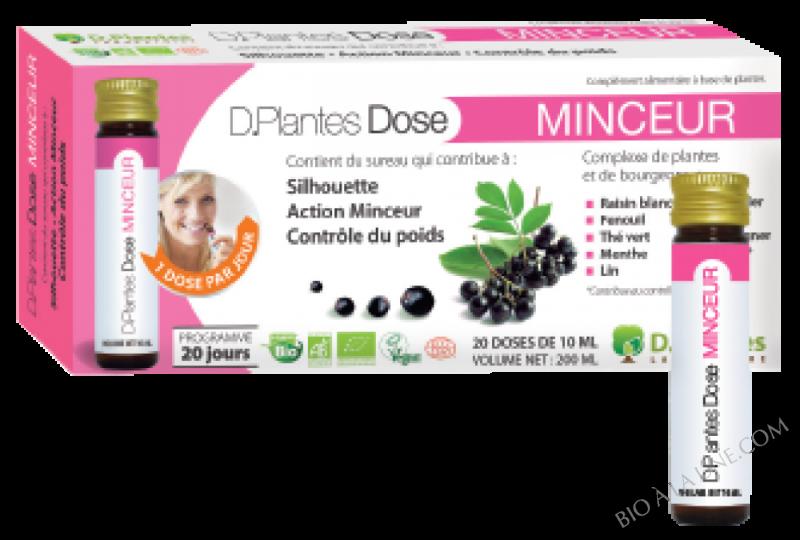 D.PLANTES DOSE MINCEUR BIO