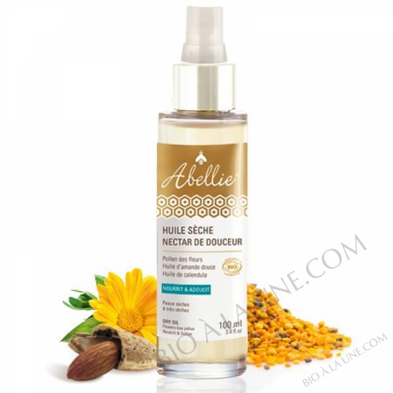 Huile sèche Nectar de douceur - Abellie - bio