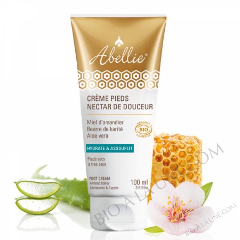 Crème pieds Nectar de douceur - Abellie - bio