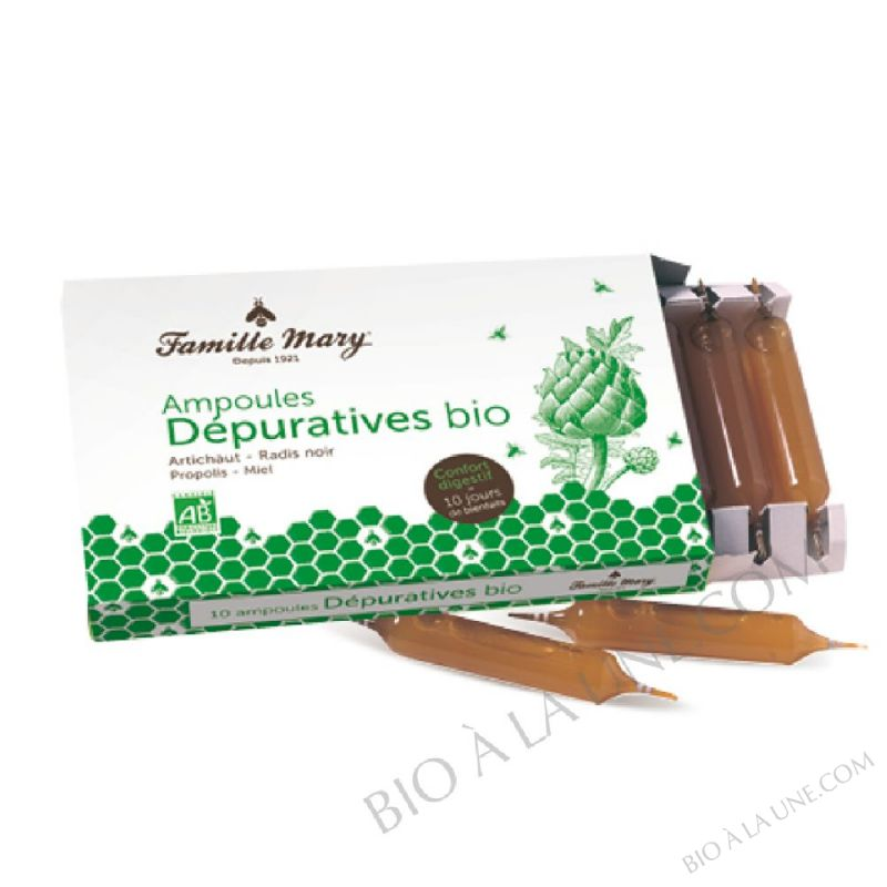Ampoules Dépuratives Bio