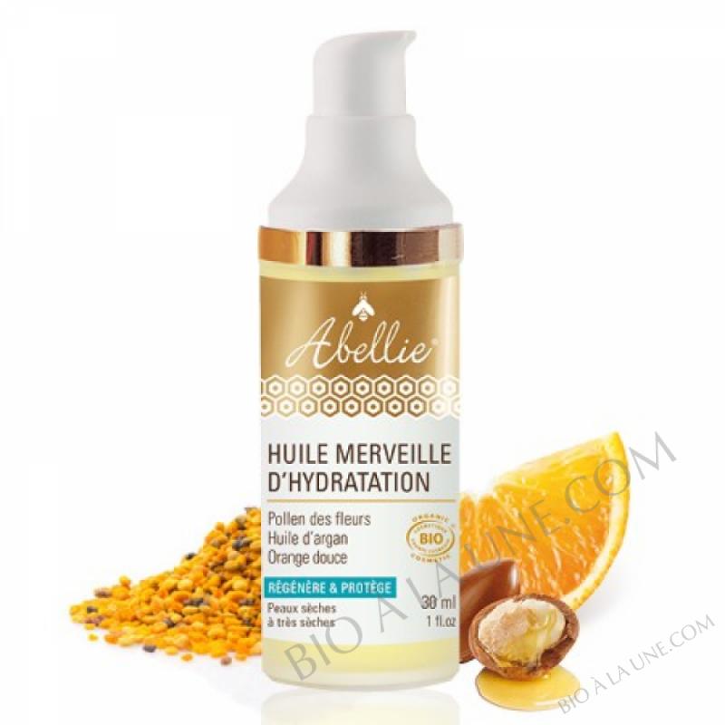 Huile merveille d\'hydratation - Abellie - bio