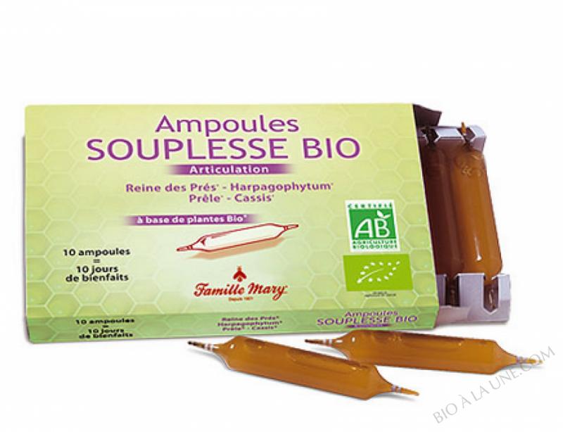 Ampoule souplesses Bio