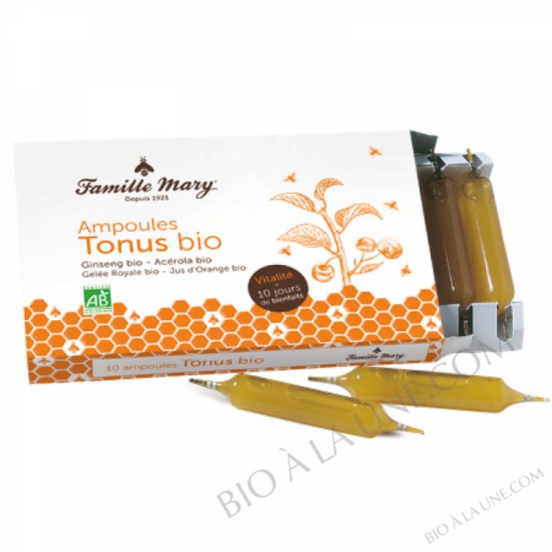 Ampoules tonus Bio