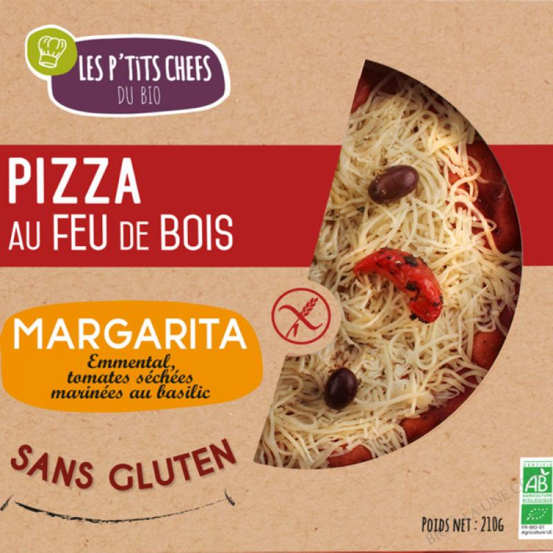 PIZZA MARGARITA SANS GLUTEN 210 G