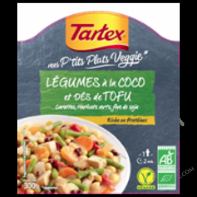 Plat cuisiné à base de tofu
