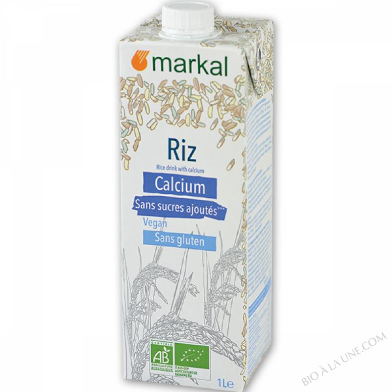 Boisson de riz calcium