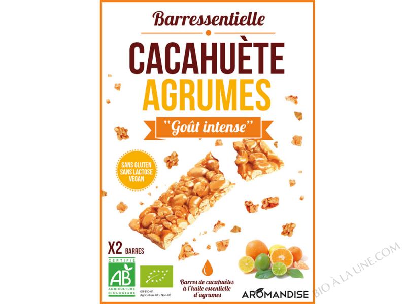 BARRESSENTIELLE CACAHUETE AGRUMES AROMANDISE