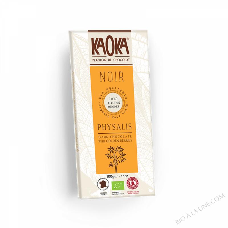 Chocolat Noir Physalis - 100g