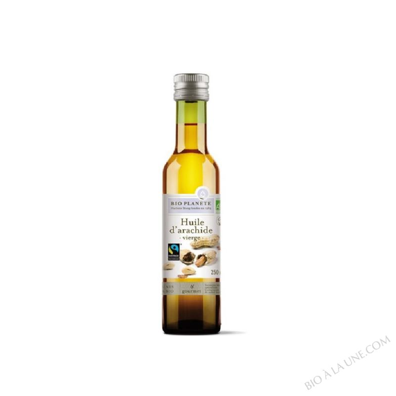 H. ARACHIDE VIERGE FAIRTRADE 25CL BIOPLANETE