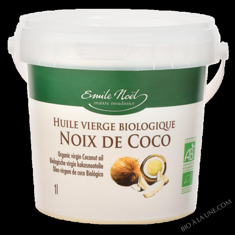 Huile de Coco vierge bio - 1L